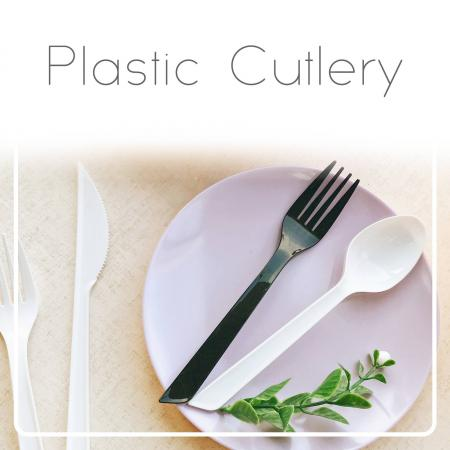 Plastic Cutlery - The plastic cutlery for dessert, ice cream, salad