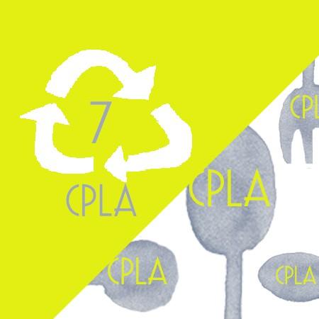 PLA/CPLA Disposable  Plastic Cutlery