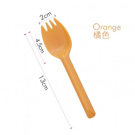 Spork naranja