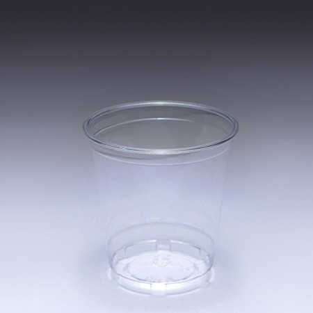 8oz (240ml) PET Cup - 8oz PET Cup make form manufacturer, one box has 1000pcs clear plastic cup.