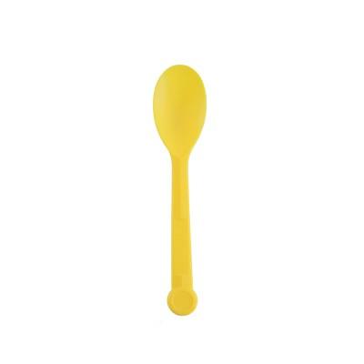 Lovely Yellow Ice Cream  Spoon
