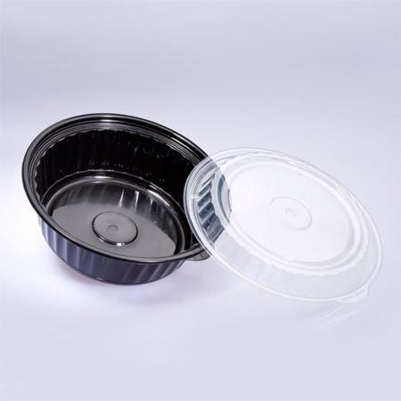 32 ऑउंस राउंड फ़ूड कंटेनर (960 मि.ली.) - 960 मिलीलीटर गर्मी प्रतिरोधी गोल खाद्य कंटेनर
