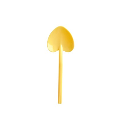 हलवा चम्मच पीला रंग - पीला हलवा चम्मच