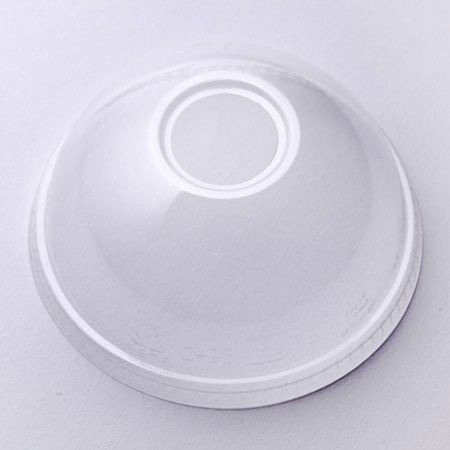PET Dome Lid - High Clarity Dome Lid