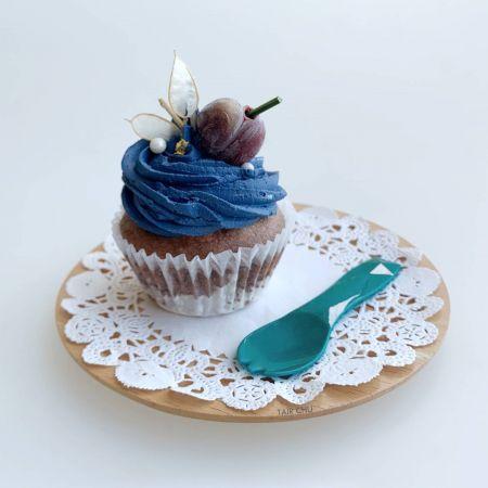 Cup Cake için Tatlı Spork