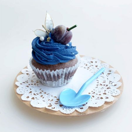Heart Spoon For Cup Cake