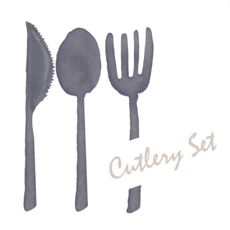Cutlery Set - Disposable Tableware,Set of Cutlery