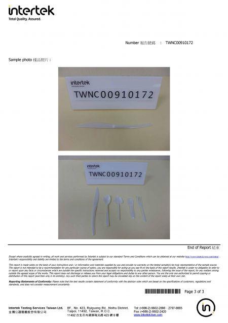2020 FDA PS Cutlery Intertek Test Report