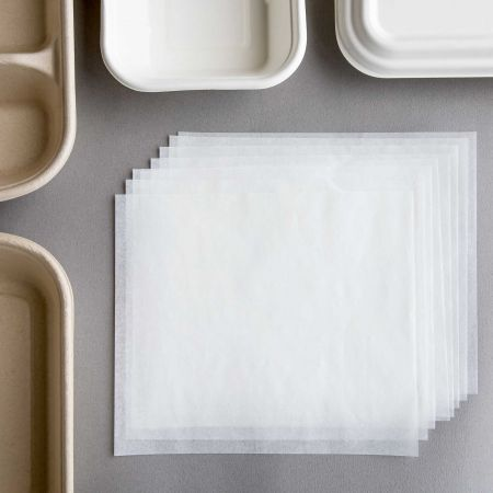 Greaseproof Paper(White) - Tair Chu oil-proof paper, it can use for sugarcane paper food container.