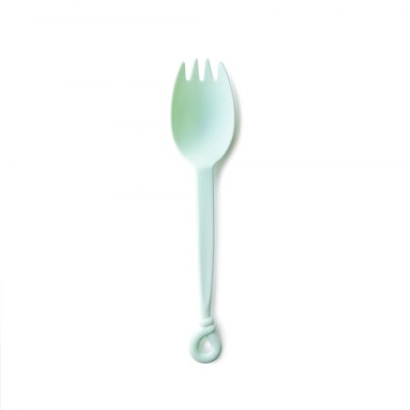 Avocado Milkshake Heat Resistant Spork - Tair Chu new product: Lovely design green-colored heat-resistant spork. It can use on the cake and hot food, great to theme restaurant.