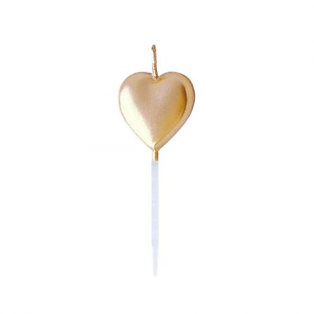 Heart-shaped Candle - Let's use TAIR CHU heart shaped candle enjoy the cake time in birthday parties!