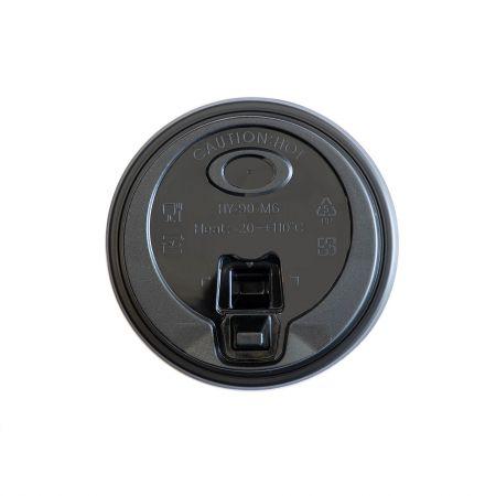 Heat-resistant Coffee Lid - plastic coffee lid,item: M6