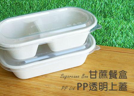 Sugarcane box and PP Lid