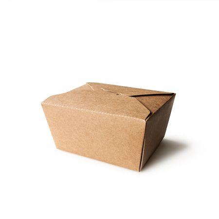 800ml Kraft Paper Food Packaging Boxes - 800ml Kraft Paper Food Packaging Boxes