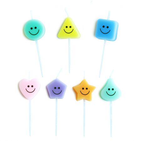 रंगीन प्यारा मोमबत्ती - आइए उपयोग करें      TAIR CHU जन्मदिन की पार्टी में प्यारा मोमबत्ती!