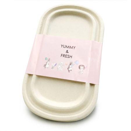 Seal Untuk Kotak Makanan - Segel untuk kotak makan bagasse sekali pakai