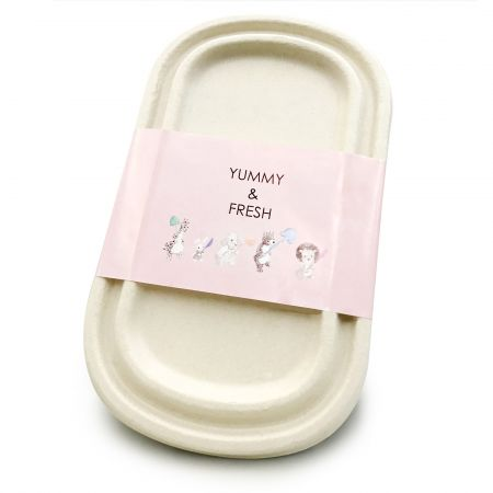 Seal For Meal Box - Seal for disposable bagasse meal box
