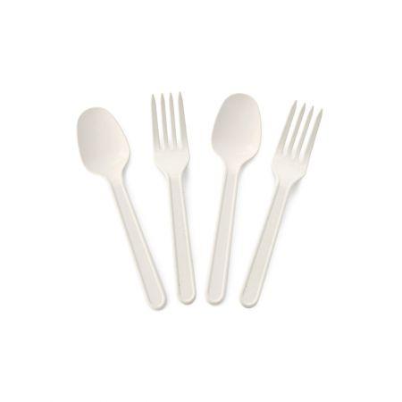 10cm Eco-Friendly Dessert Cutlery Set - Tair Chu 10cm Eco-Friendly Dessert Cutlery Set