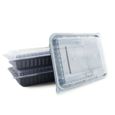 28oz Rectangle Food Container(840ml) - 28oz Food Container, Microwave-safe