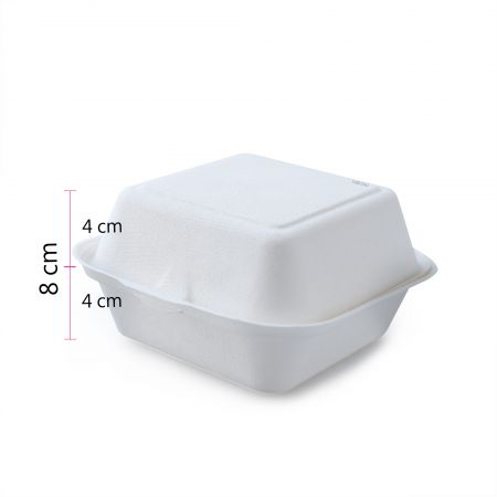 "Hamburger Container(6""*6"") size"