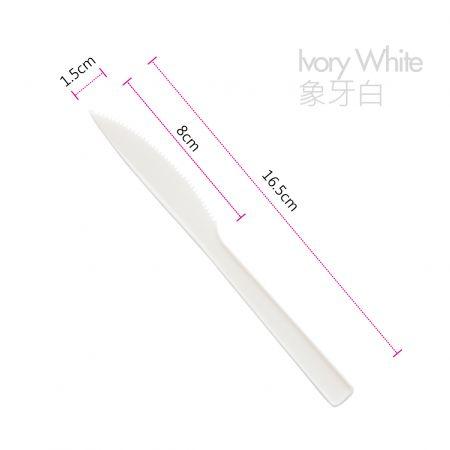 16.5cm CPLA Yemek Bıçağı
