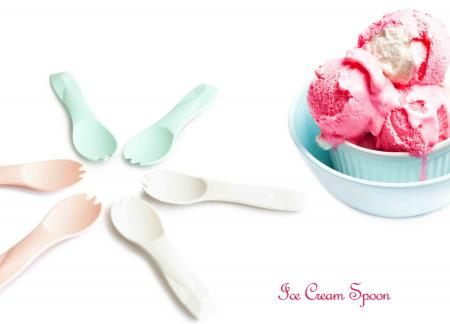 Latest PLA Ice Cream Spoon