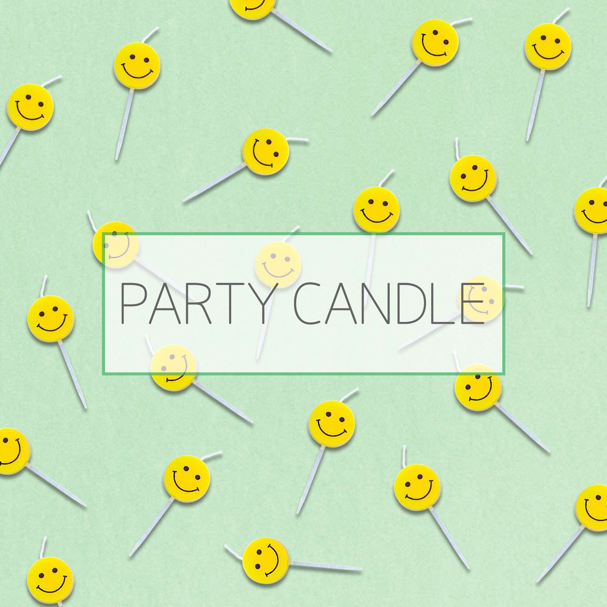 Party Candle - Stylish cake candle for party and birthday.
