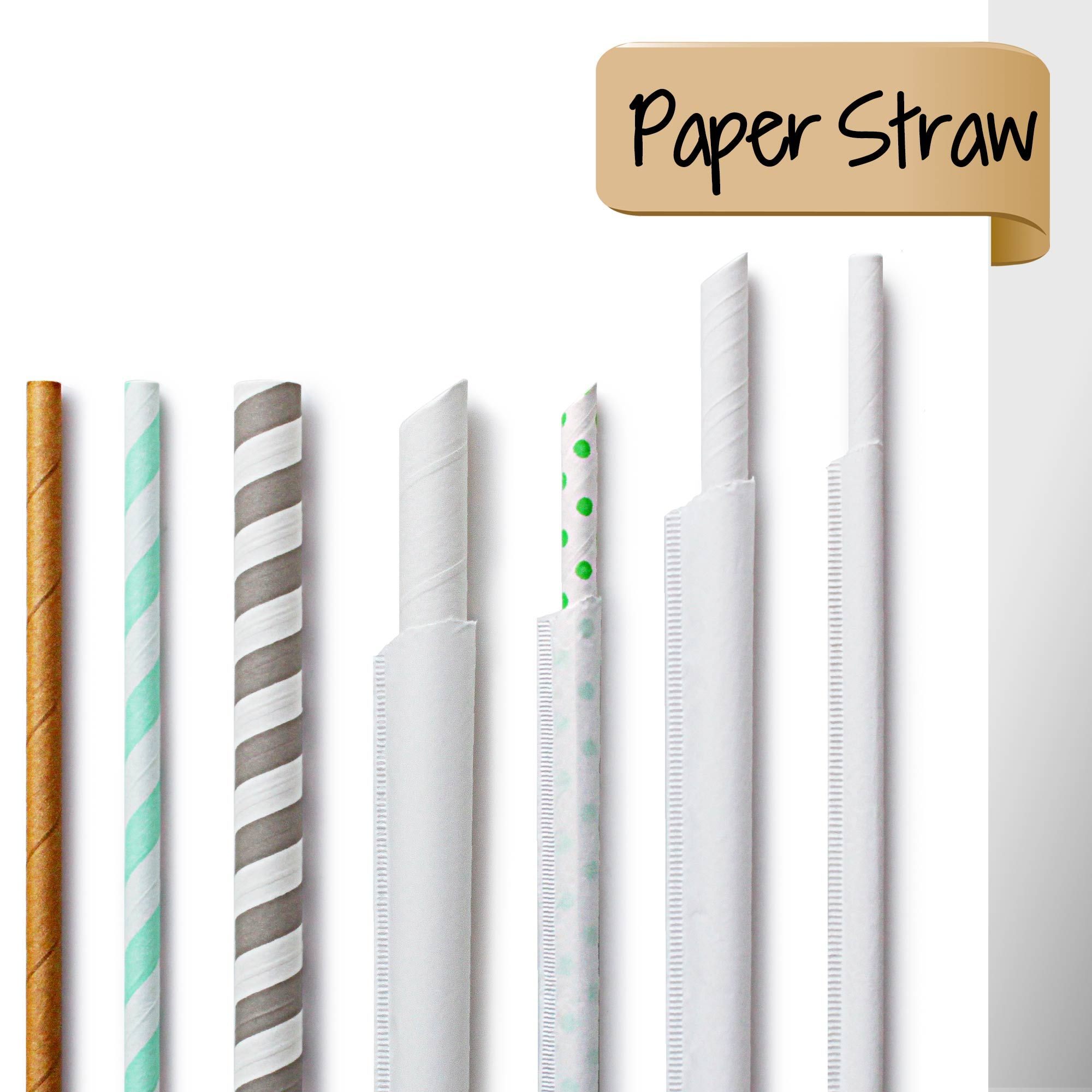 ECO-Friendly Paper Straw - ECO-Friendly Paper Straw