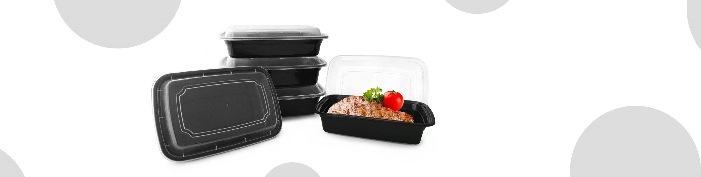 Heat-resistant Plastic Box Microwave-safe