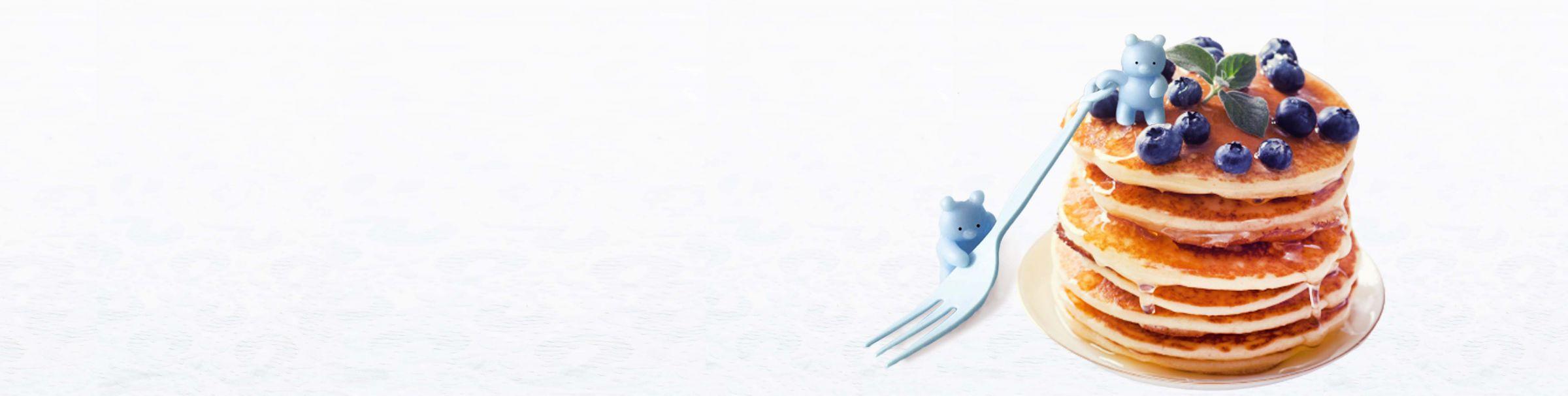 Garfo colorido de 14 cm Bolo x Salada