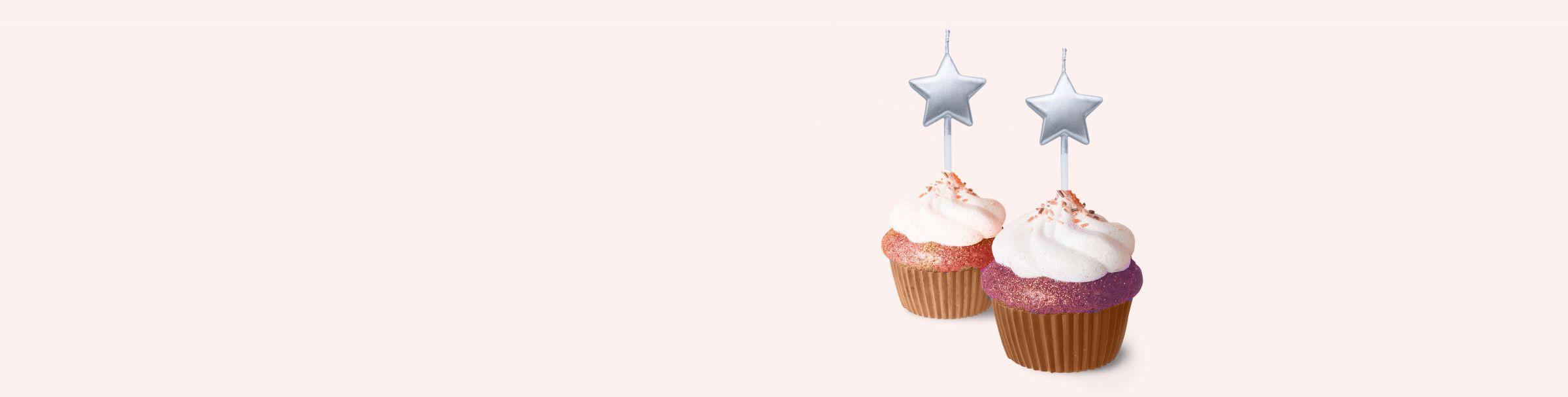 Vela estrela Para Bolo De Festa