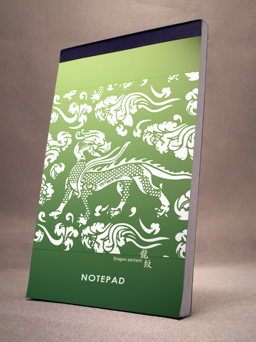 Oriental Style Notepad - Soft Paper Notepad