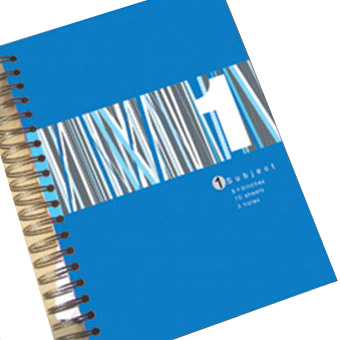 4C Printing Subject Notebook - 4C Printing Subject Notebook