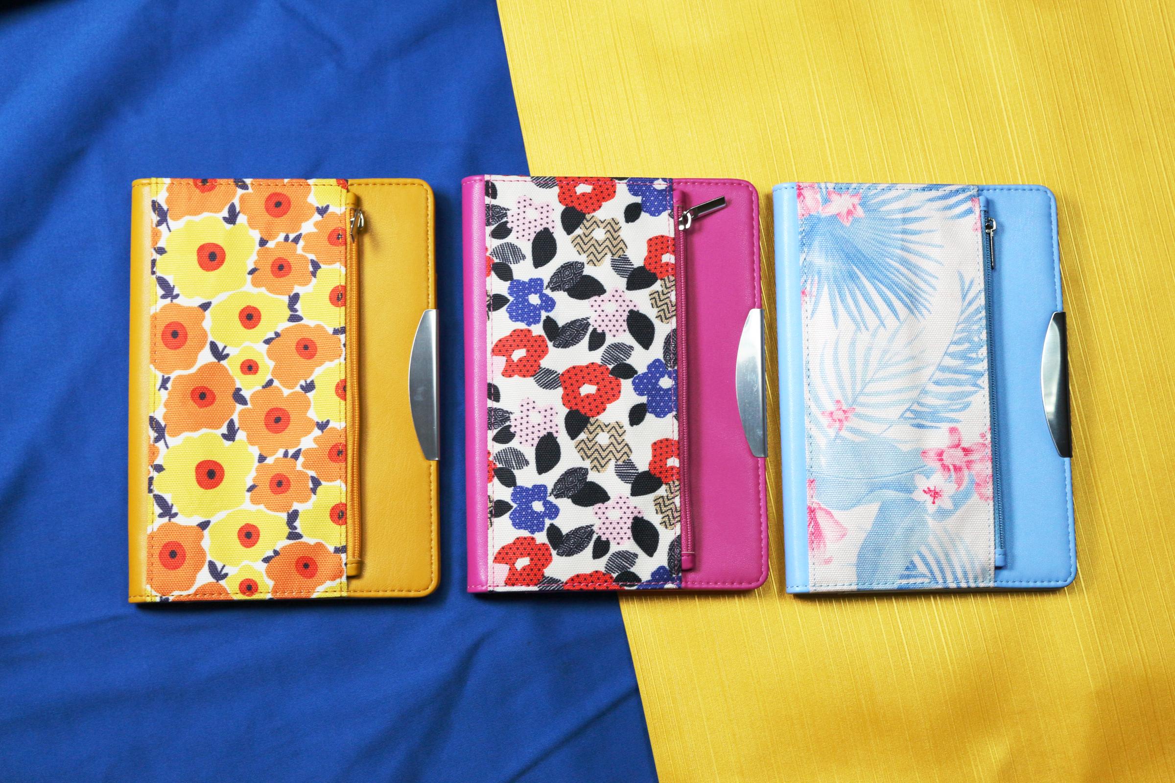 Taschenstil Reißverschluss Journal