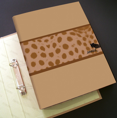 2 D-Ring Binder File- Jungle & Ocean Series - 2 D Ring Binder Data File