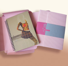 Fashion Design Notebook Gift Set - Notebook Gift Set