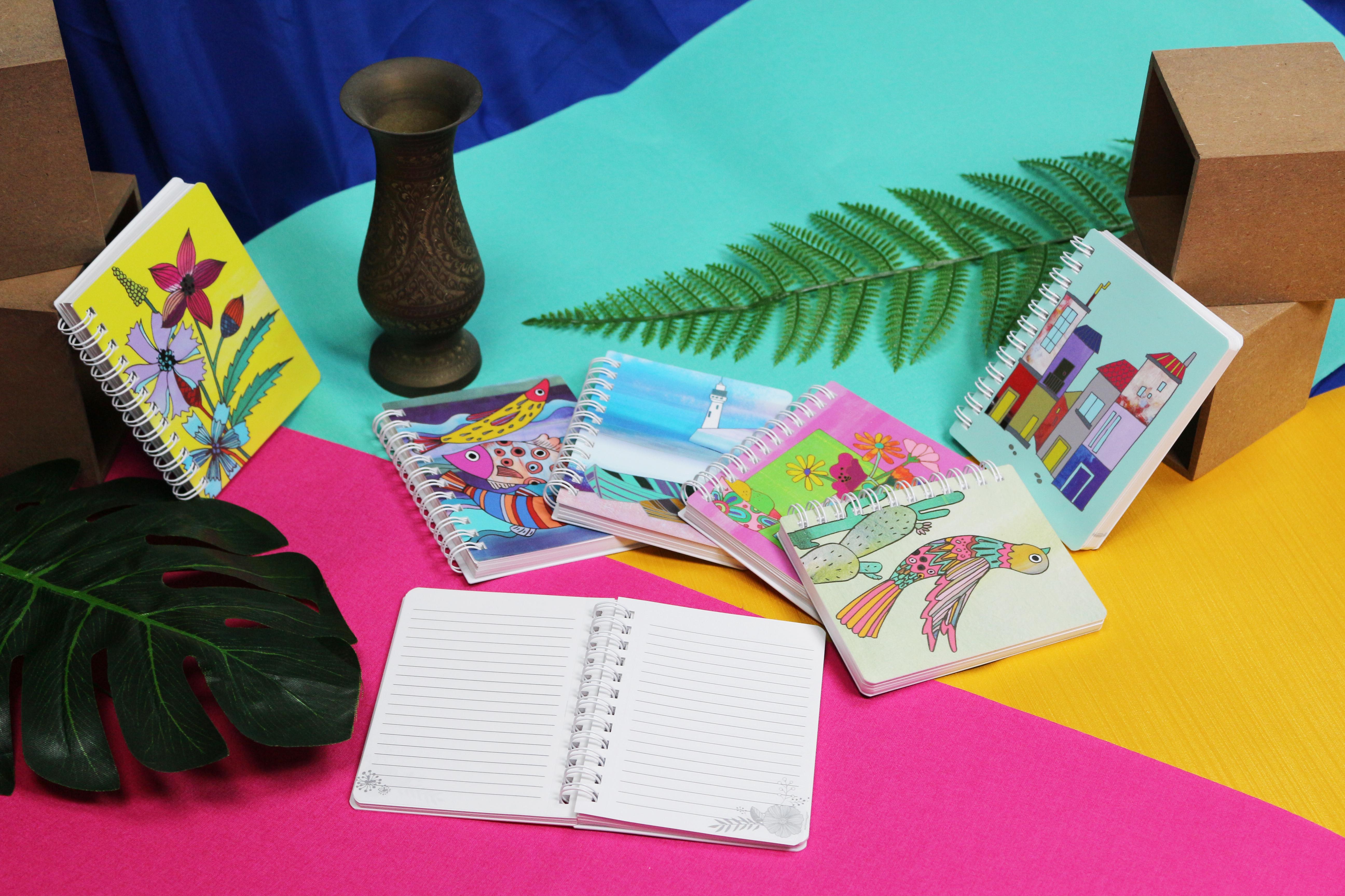 Cha Cha design journal notebook