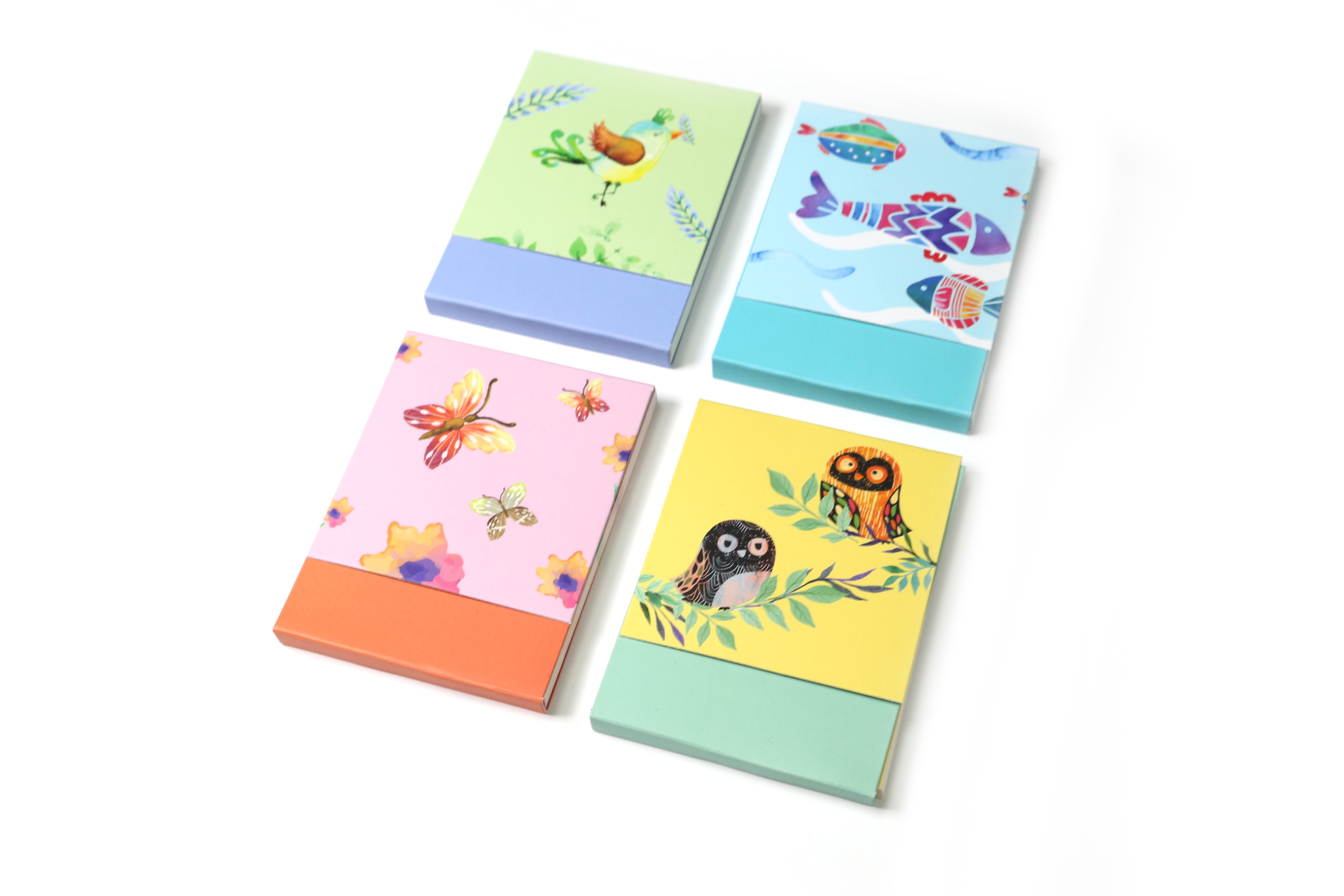 Little Animals Series Magnet Closure List Pad