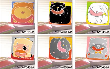 Don't worry Be Happy Memo pad - Glued Binding Memo pad Cute Series