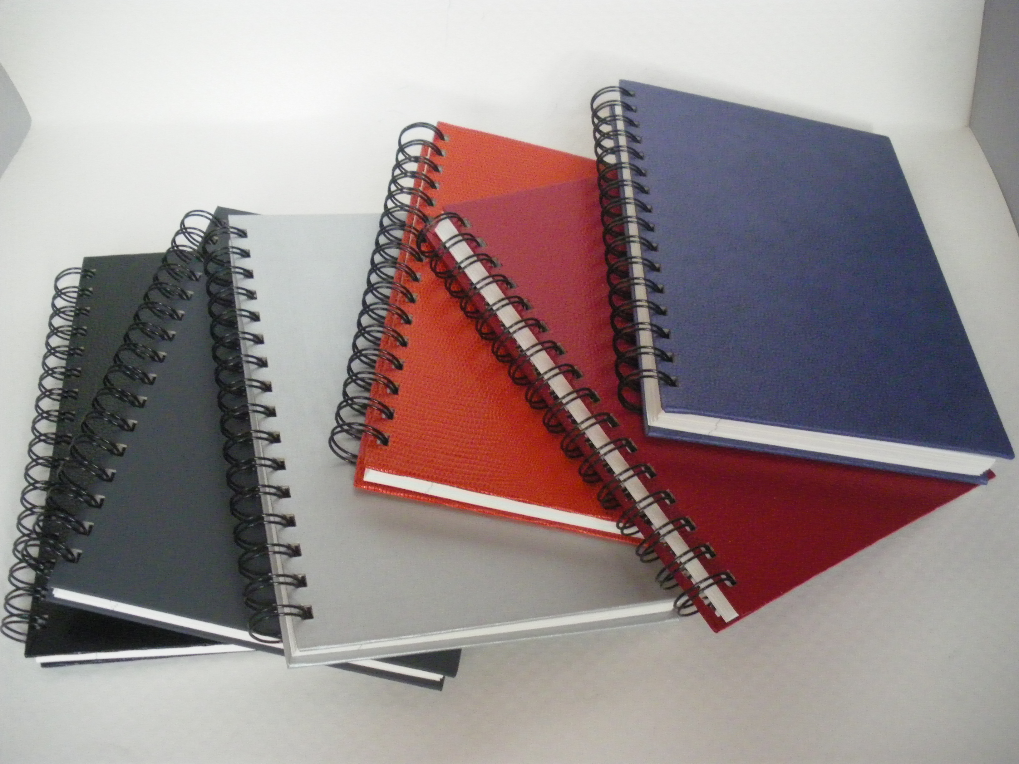 PU Leather Spiral Office Notebook - PU Leather Spiral Office Notebook