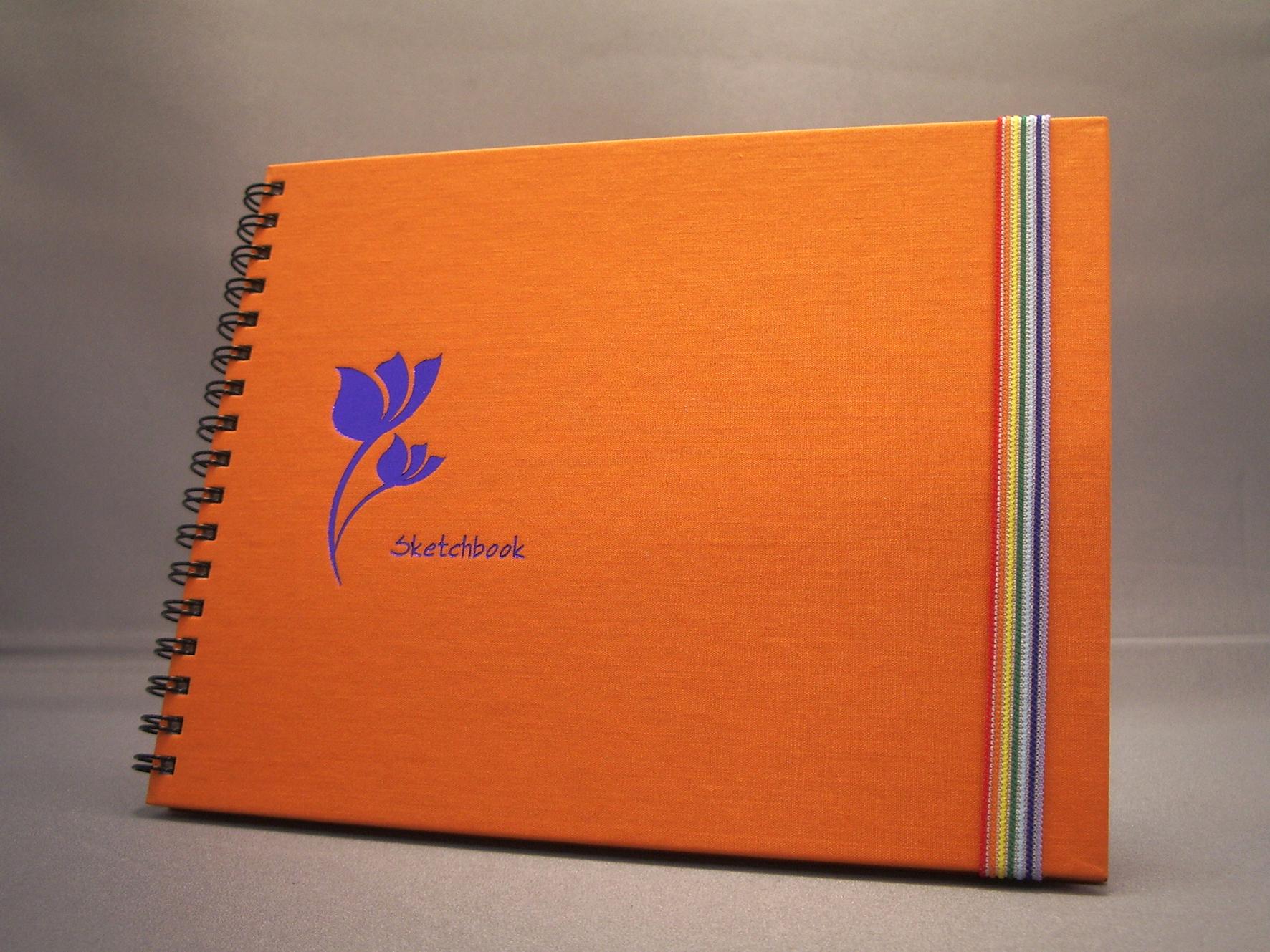 Totem Style Silk Cotton Sketchbook - Totem Style Silk Cotton Sketchbook