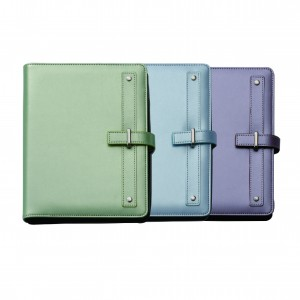 Color PU Cover Diary