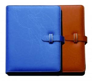 Einfarbiges Thermo-PU-Tagebuch