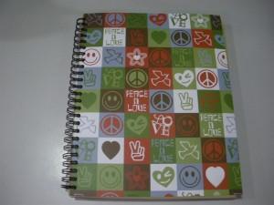 1 cuaderno de asignaturas