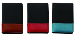 Thermo PU With Mesh Fabric Cover Diary