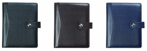 Solid Color PU Magnet Closure Diary