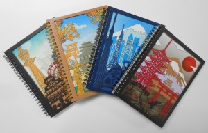 3D Laser Cut Spiral Notebook - 3D Laser Cutting Spiral Notebook
