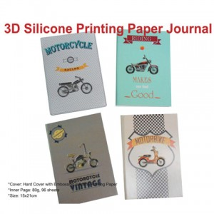 3D Silicone Printing Paper Journal - 3D Silicone Printing Paper Journal