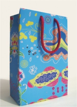 حقيبة هدايا ورقية حجرية - حقيبة هدايا ورقية حجرية