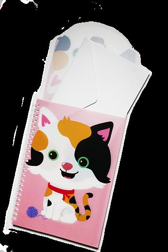 Cute Animal Pocket PP Notebook